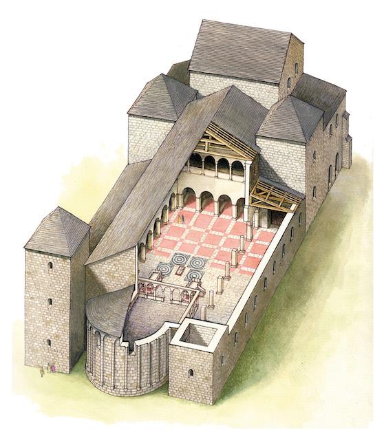 The Foundation of the Fehérvár Basilica