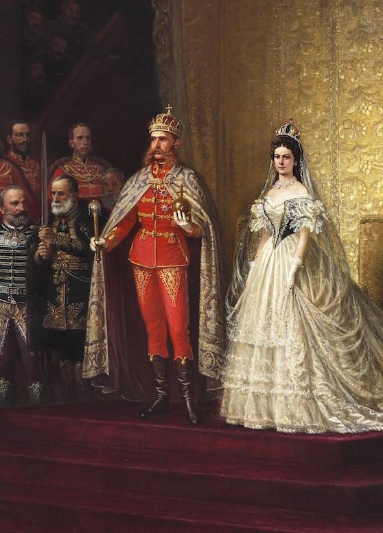 The coronation of Franz Joseph