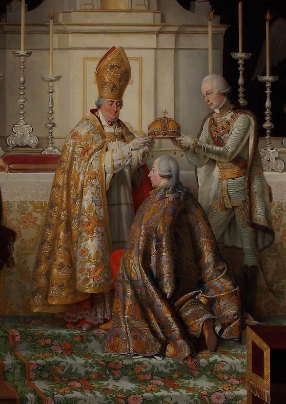 Coronation in the Buda Castle Mary Magdalena Church